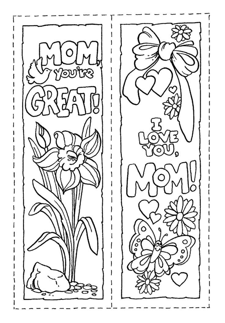 M/coloring Pages Printable Christian Bookmark Coloring Pages