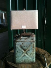 USMC Jerry Can Lamp | Upcycle Jerry Cans | Pinterest ...