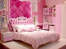 Pink Princess Bedroom Set Ideas for Teenage Girls With ...