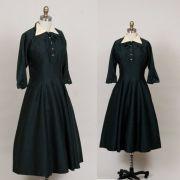 1940s 1950s school teacher dress