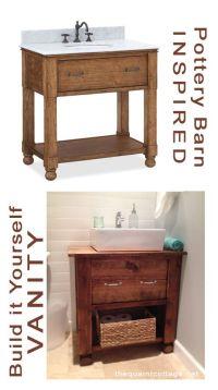 Build Your Own Bathroom Vanity Plans - WoodWorking ...