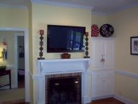 1000+ ideas about Tv Above Mantle on Pinterest | Tv above ...
