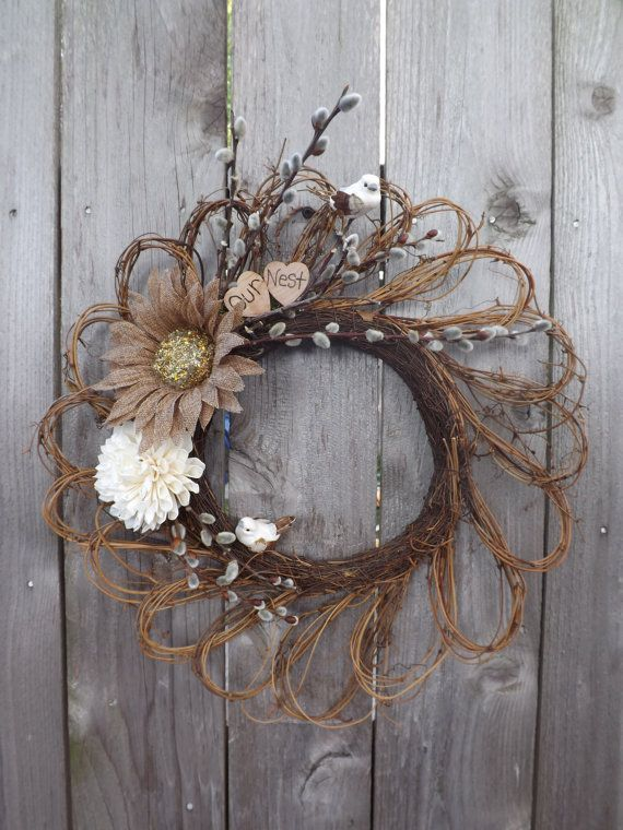 108 Best Images About Grapevine Wreath Crafts On Pinterest