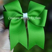 free tails hair bow instructions