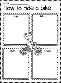 Procedural Writing Worksheets Grade 2