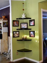 25+ best ideas about Floating Corner Shelves on Pinterest ...