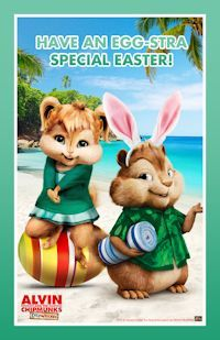 Chipmunks Easter Card And Postcards On Pinterest