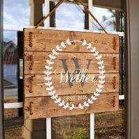 17 Best ideas about Personalized Wooden Signs on Pinterest ...