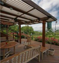 Metal Roof for Pergola Options   Pergolas, Metal roof and ...
