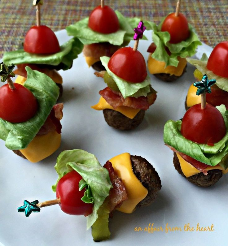 17 Best ideas about Party Finger Foods on Pinterest