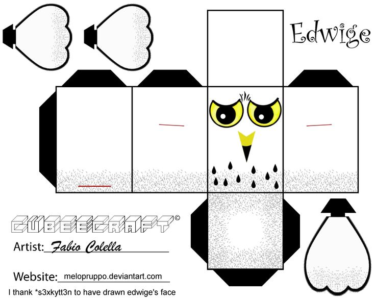 395 best images about Cube Craft Printables on Pinterest