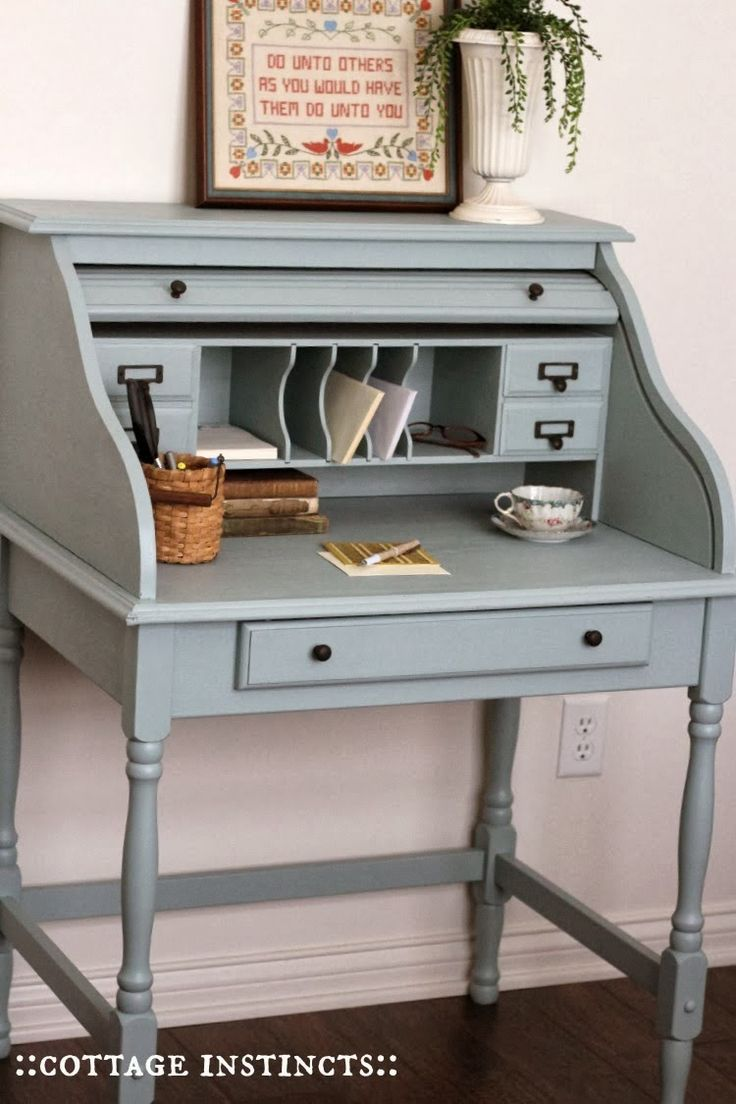 How To Make A Small Secretary Desk  WoodWorking Projects