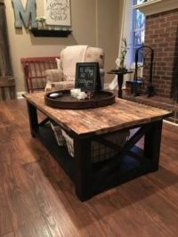 Best 25+ Rustic coffee tables ideas on Pinterest | House ...