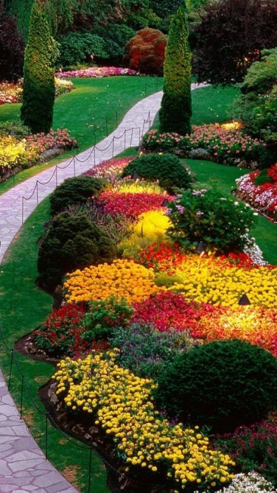 Free Fall Wallpaper For Cell Phones Butchart Gardens Victoria Bc Canada So Incredibly