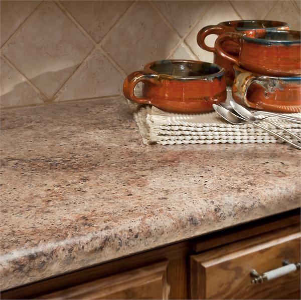 Madura Garnet kitchen island countertop from Wilsonart