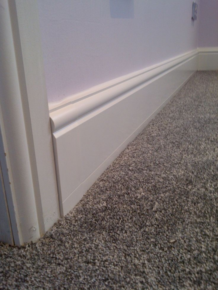 Looks like a normal skirting board however it is actually