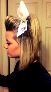 Best 20+ Cheerleader Hair ideas on Pinterest ...