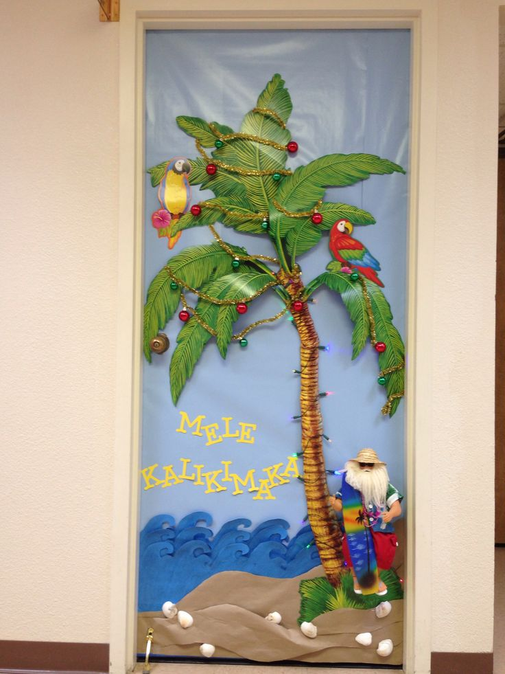 Door Decorating Contest at Work