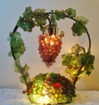 21 best images about Czech Fruit Glass Lamps on Pinterest