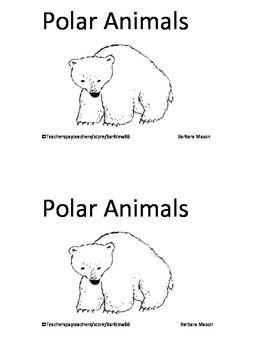 Polar Animals Arctic Animals Pack: Books, Writing