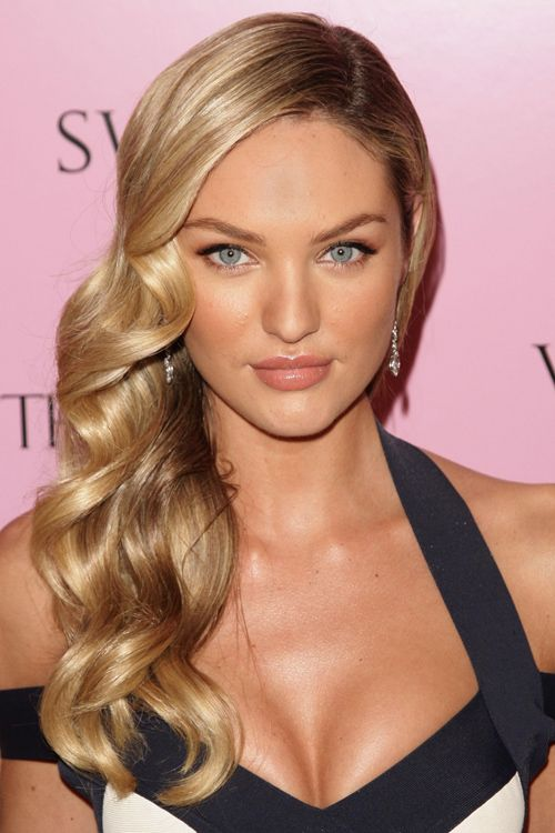25 Best Ideas About Side Swept Curls On Pinterest Side Curls