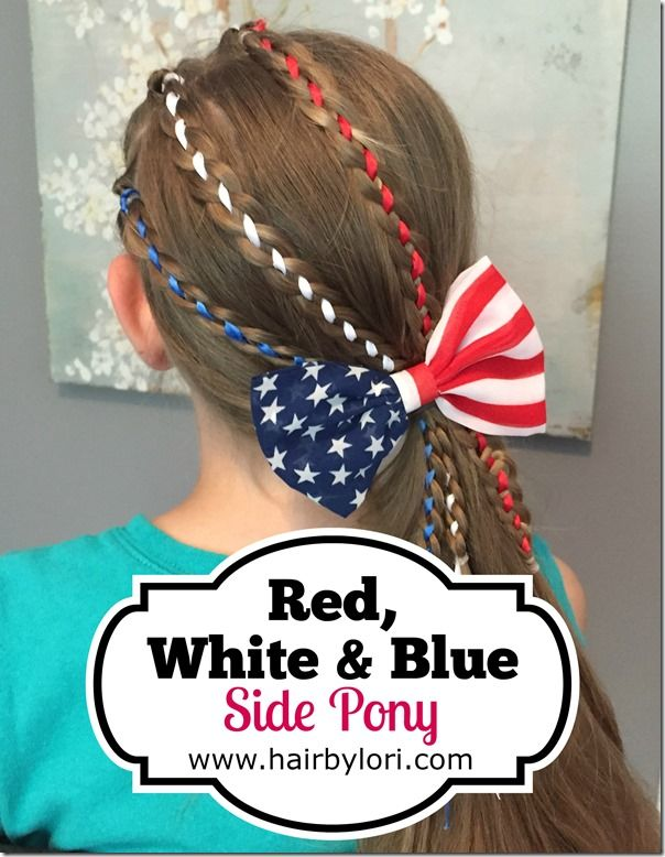 50 Best Images About Fourth Of July Hairstyles On Pinterest Red