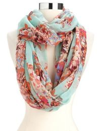 1000+ images about Floral scarf with outfits on Pinterest ...