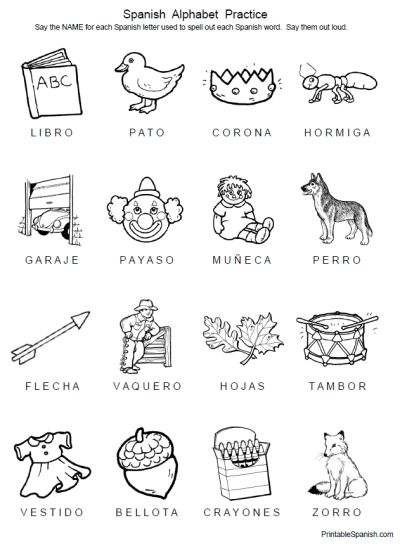 500 best images about Printable Spanish on Pinterest