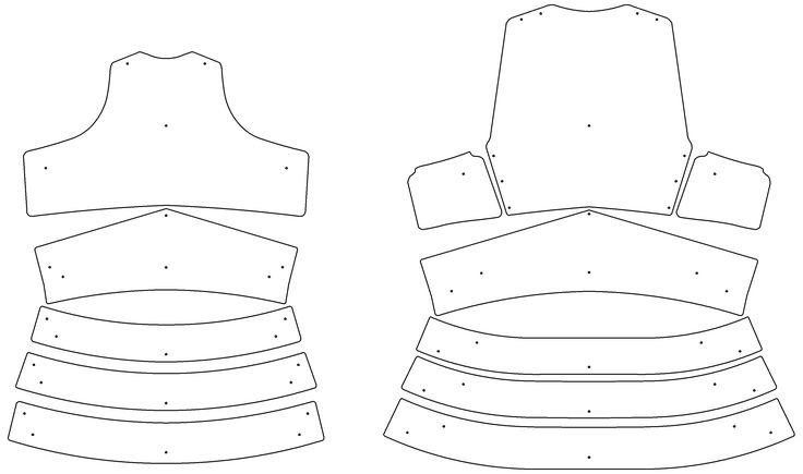 17+ best images about armor templates on Pinterest