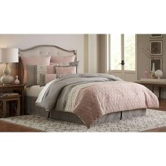 Plum Colored Living Rooms Large Wall Murals For Room Essential Home 8-pc Blush Clover Comforter Set - ...
