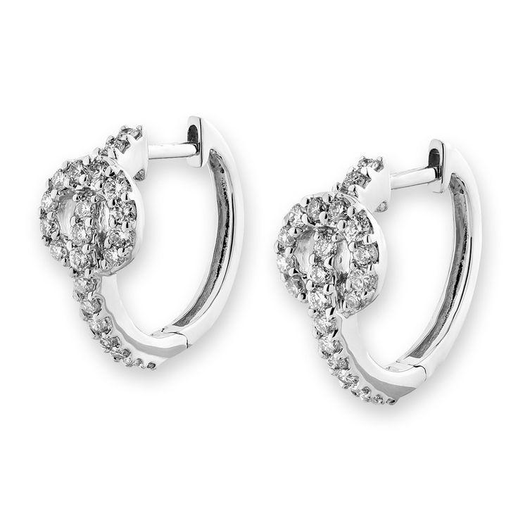 25+ Best Ideas about Diamond Cross Earrings on Pinterest