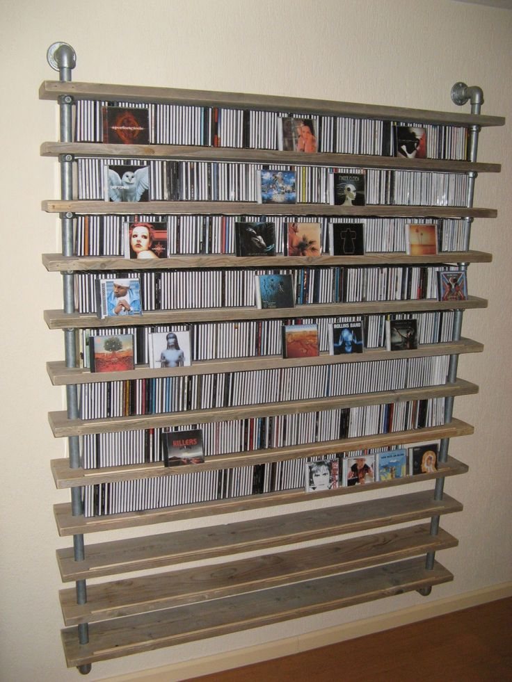 1000 ideas about Dvd Storage Shelves on Pinterest  Dvd