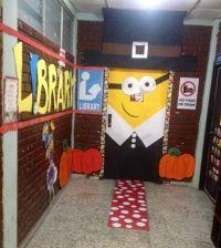 Thanksgiving Pilgrim minion door!!! | Bulletin Board- Door ...