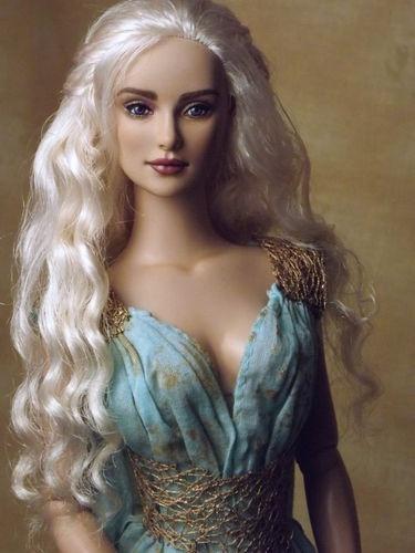 OOAK Daenerys Doll Tonner Repaint Game Of Thrones Emilia