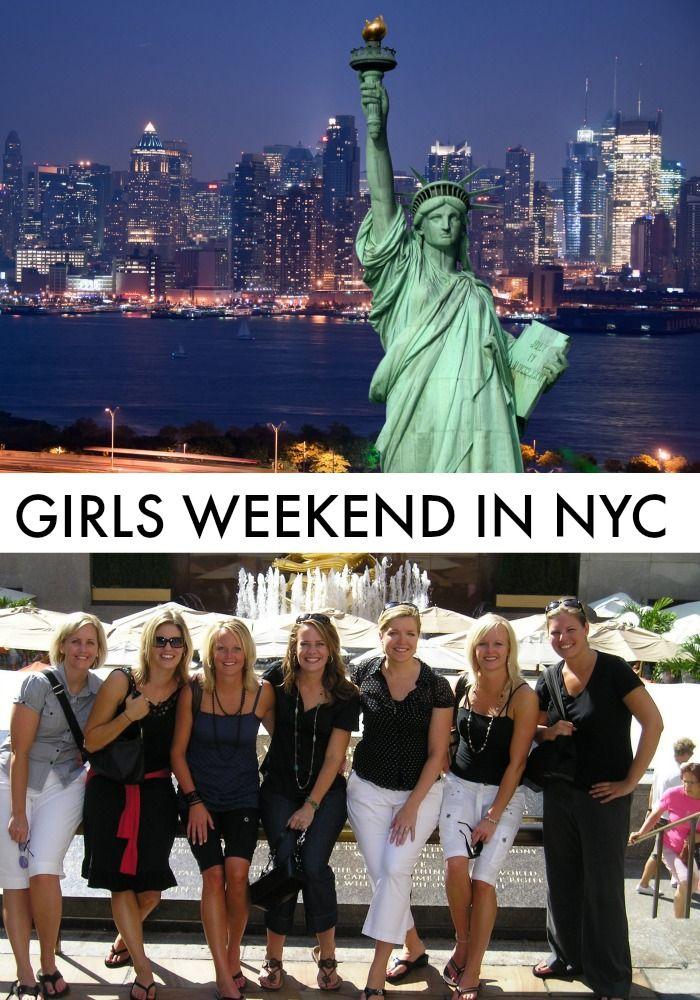 Girls weekend getaway in New York City — a few things I learned.