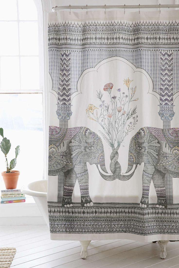 17 Best ideas about Elephant Shower Curtains on Pinterest  Elephant decorations Elephant room