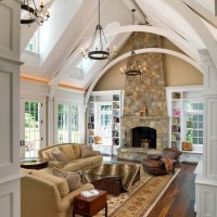 I'm not sure about the arched beams...but I love the high ...