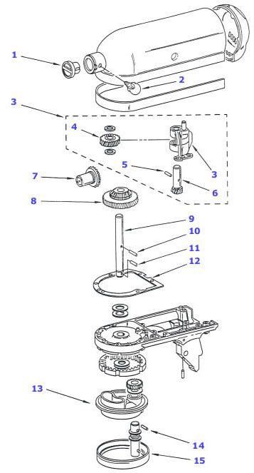 Kitchenaid Mixer Parts. Cool Item Kawpw With Kitchenaid