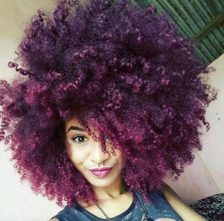 Best 25+ Purple natural hair ideas on Pinterest