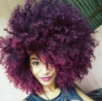Best 25+ Purple natural hair ideas on Pinterest | Colored ...