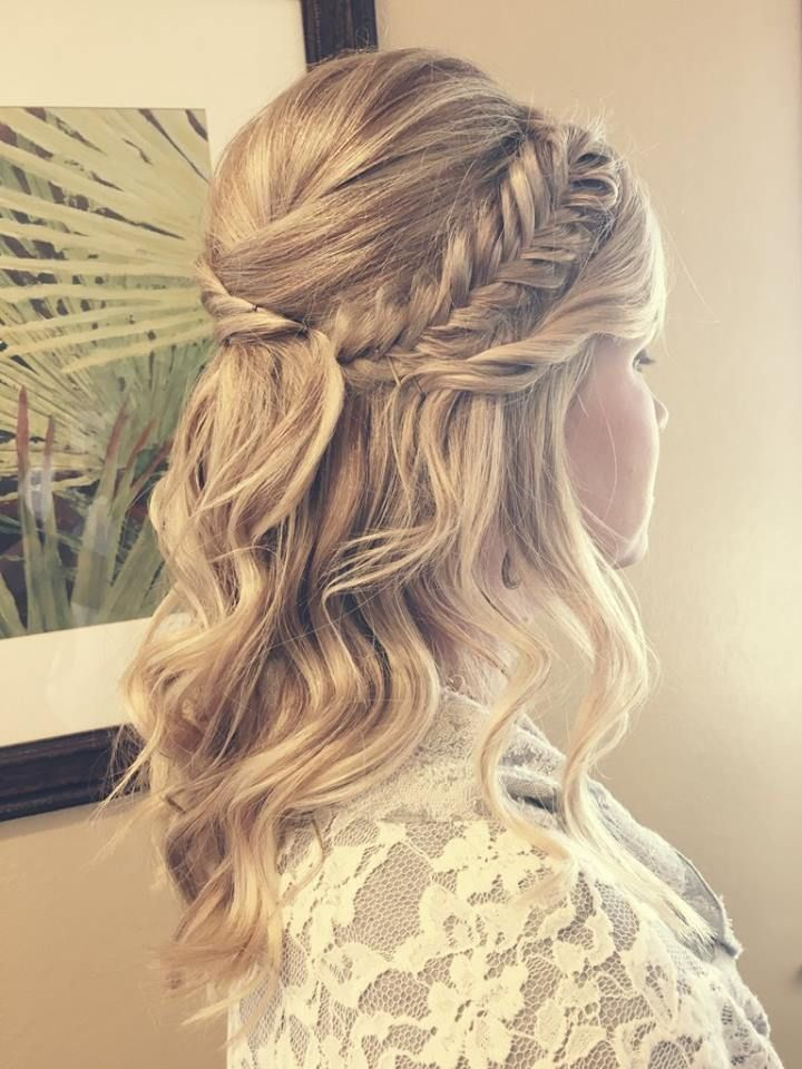 25 Best Ideas About Bridesmaid Long Hair On Pinterest Bridal