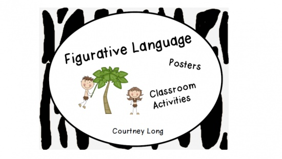 Figurative Language Packet: Jungle Theme product from