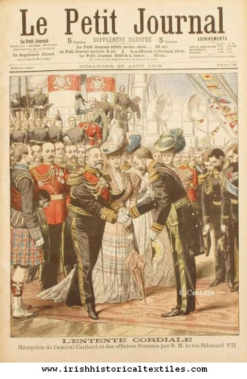 Front Page Of Le Petit Journal 20 August 1905 Irish