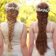 mermaid braids & flower crowns