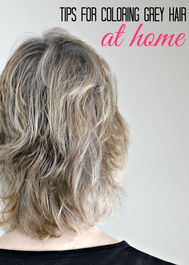 Tips for Coloring Grey Hair at Home   Coloring Home and ...