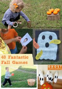 40 Outdoor Fall Games for Kids   Thanksgiving, Plays and ...