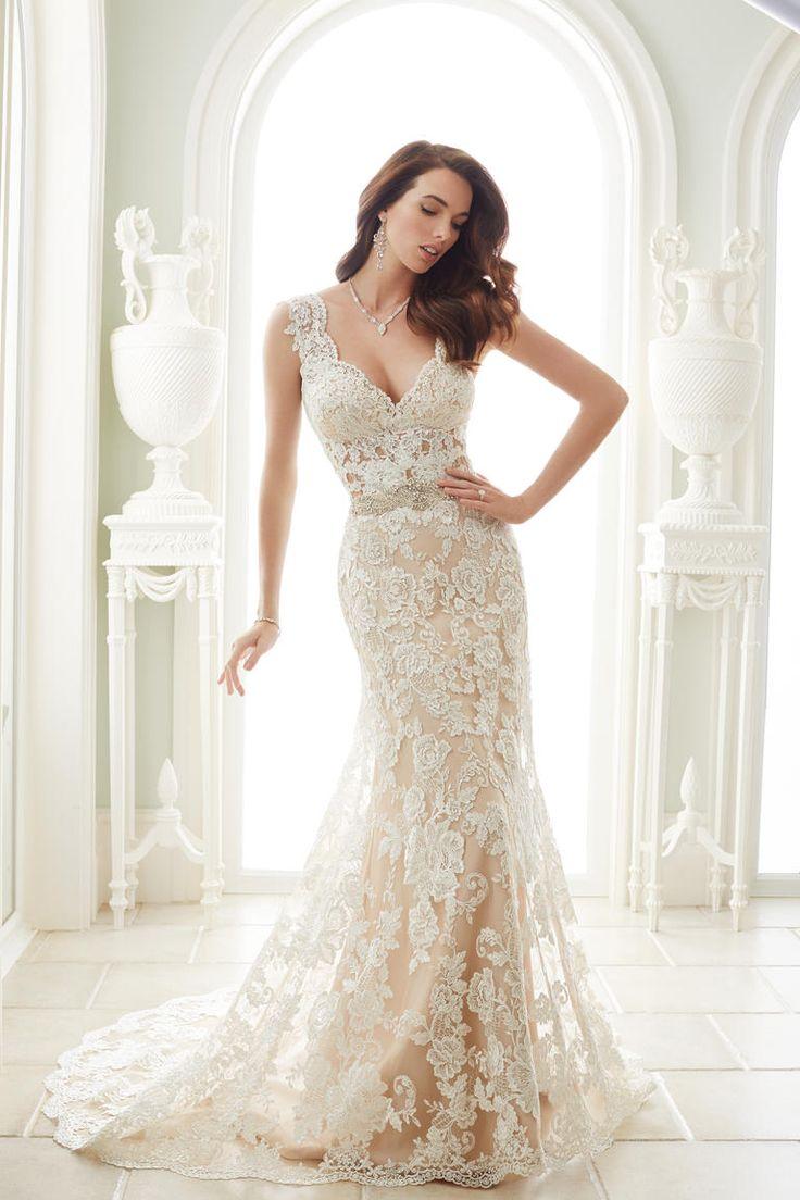 Best 25 Ivory Lace Wedding Dress ideas on Pinterest