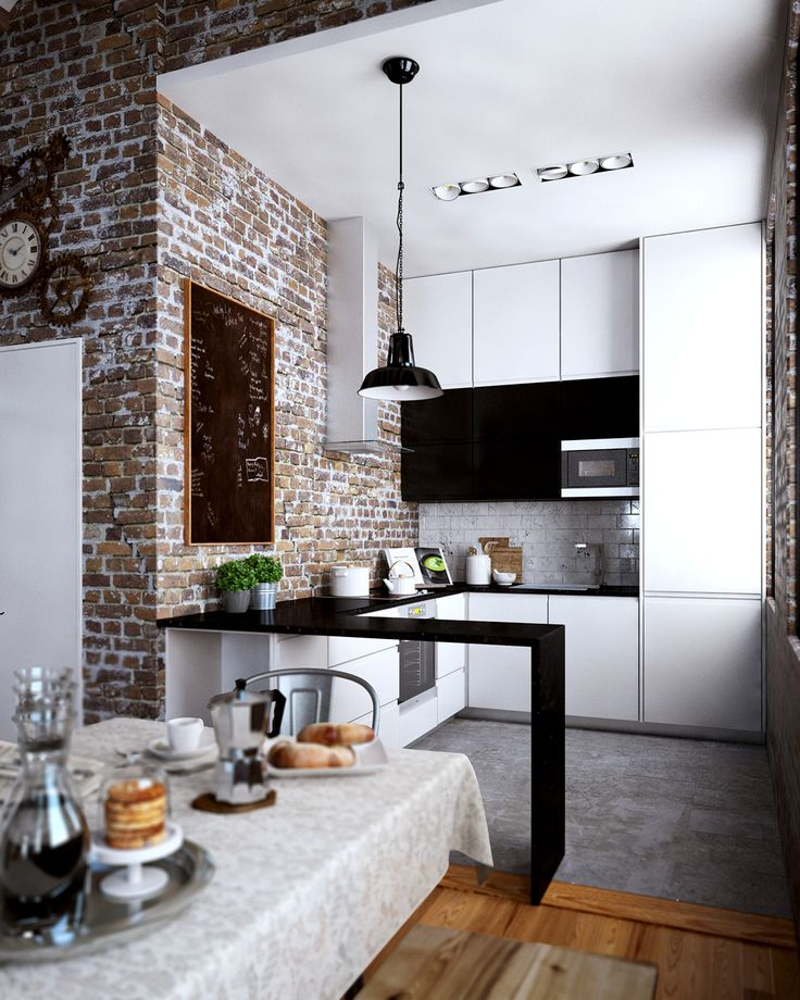 25 Best Ideas About Loft Kitchen On Pinterest Industrial Style