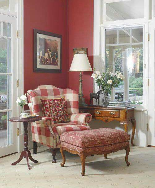 buffalo plaid chair inflatable chairs cheap 17 best images about decorating with red on pinterest | chairs, dining rooms and english country ...