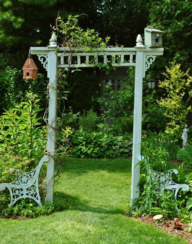 25 Best Arbor Ideas On Pinterest Garden Arbor Rustic Pathways